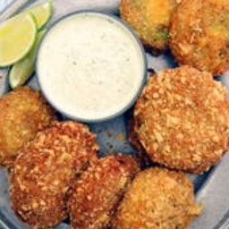Guacamole-Stuffed Onion Rings
