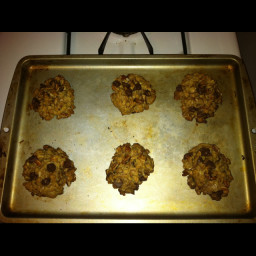 Guilt-Free Chocolate Chip Oatmeal Cookies
