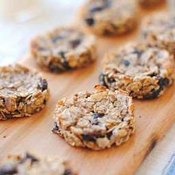Guilt-Free Oatmeal Raisin Cookies
