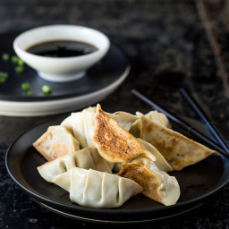 Gyoza Pork Dumplings with Spring Onion
