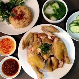 Hainan Chicken Rice Com Ga Hai Nam