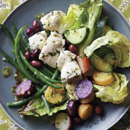 Halibut Salade Nicoise