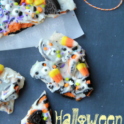 Halloween Bark - Fun Halloween Food