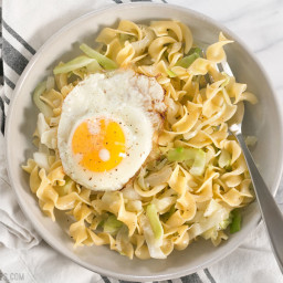 Halusky (Cabbage and Noodles)