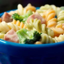 Ham and Broccoli Fusilli