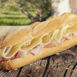 Ham and Cheese (Baguette)