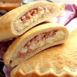 Ham and Cheese Calzone
