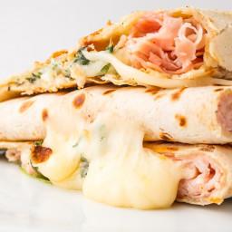 Ham and Cheese (Piadina)