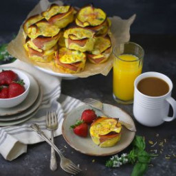 Ham and Egg Muffin Cups