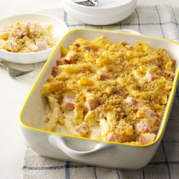 Ham and Swiss Baked Penne Recipe