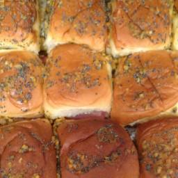 Ham and Swiss Sliders by LMB