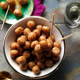 Ham Balls with Brown Sugar Glaze Recipe