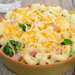 Ham, Broccoli & Swiss Casserole