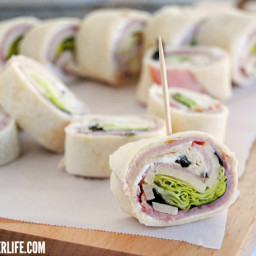 Ham & Cheese Roll Ups