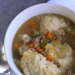 Ham Hock and Dumplings