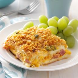 Ham 'n' Cheese Strata Recipe