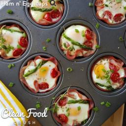 Ham n' Egg cups?