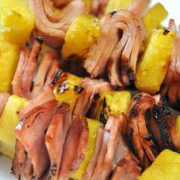 Ham & Pineapple Kabobs