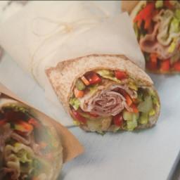 Ham salad wraps