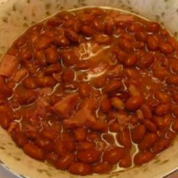 Ham-seasoned Soup Beans