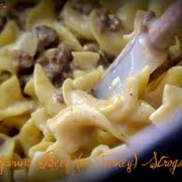 Hamburger Meat Stroganoff