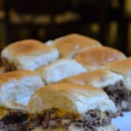 Hamburger Sliders in the Oven