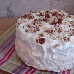 Happy Hummingbird Cake with Coconut and Rum Cream Cheese Frosting
