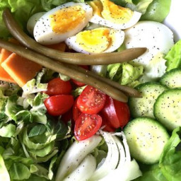Happy March! and Irish Pub Salad Recipe