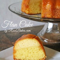 Happy Mother's Day: Mom's Flan Cake