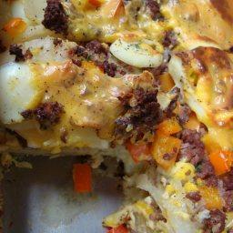 Hardy Breakfast Casserole