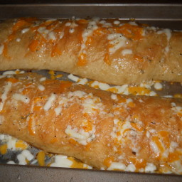 hasselback Garlic Chessy Bread