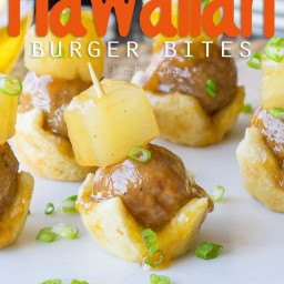 Hawaiian Burger Bites