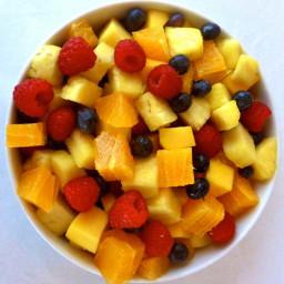 Hawaiian Fresh Fruit Salad