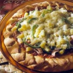 Hawaiian Pineapple Pizza