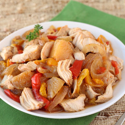 Hawaiian Slow-Cooker Chicken