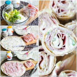 Hawaiian Tortilla Roll Up