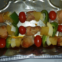 Hawaiian Turkey Kebobs