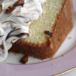 Hazelnut Bundt Cake with Nutella Whipped Cream