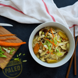 Healing Chicken Soup Recipe: Paleo and Whole30