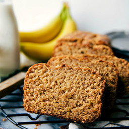 Healthier Greek Yogurt Banana Bread