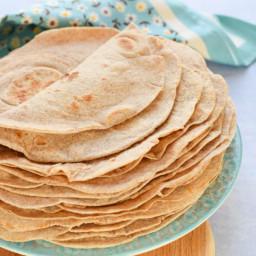 Healthier Tortilla Wraps