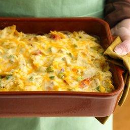 Healthified Chicken Tortilla Casserole