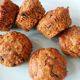Healthy Apple and Carrot Muffins