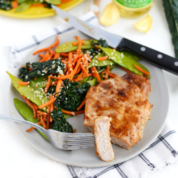 Healthy Asian-Style Pork Chops