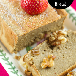 Healthy Banana Oatmeal Bread