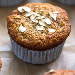 Healthy Banana Oatmeal Muffins