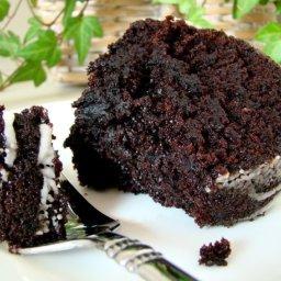 Healthy - Black Devils Food Cake