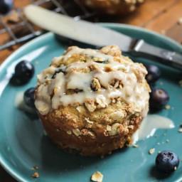 Healthy Blueberry Muffins • Fit Mitten Kitchen