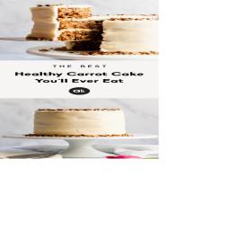 Healthy carrot cake (paleo & gluten free)
