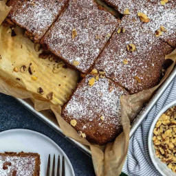 Healthy Carrot Cake Recipe with Honey and Whole Wheat Flour